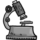 science, medical, education, Observation, scientific, microscope, Tools And Utensils Black icon