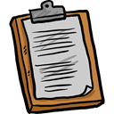 Clipboard, list, education, Tasks, checking, Verification, Tools And Utensils LightGray icon