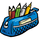 Writing Tool, education, pencil case, Tools And Utensils Icon