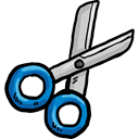 Cut, scissors, miscellaneous, Cutting, Tools And Utensils, Handcraft, Construction And Tools Black icon