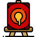 tools, tool, paint, Art, Painting, Artistic, Easel, Canvas, Painter, Art And Design Black icon