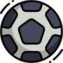 sports, Team Sport, Sports And Competition, Game, Football, soccer, equipment DarkSlateGray icon