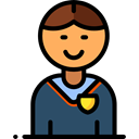 user, Boy, profile, student, Avatar, Social, people Icon