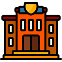 buildings, Classroom, university, college, school, education, Monuments, Architecture And City Black icon