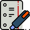 document, paper, File, Letter, Note, Notes, interface, education, Files And Folders LightGray icon
