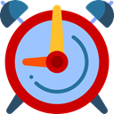 Clock, time, timer, alarm clock, Tools And Utensils, Time And Date LightSkyBlue icon