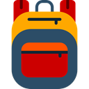 travel, Backpack, luggage, baggage, Bags DarkSlateGray icon