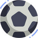 Game, Football, soccer, equipment, sports, Team Sport, Sports And Competition DarkSlateGray icon