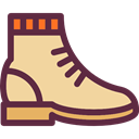 Boot, Clothes, Climbing, fashion, footwear NavajoWhite icon