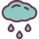 weather, Rain, Storm, sky, rainy, meteorology, raining SkyBlue icon