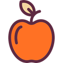 Apple, vegetarian, vegan, Healthy Food, Food And Restaurant, food, Fruit, organic, diet Tomato icon