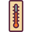 thermometer, Mercury, Celsius, Fahrenheit, miscellaneous, temperature, Degrees, Tools And Utensils DarkSlateGray icon