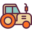 engine, transportation, transport, vehicle, tractor, Farm, Automobile DarkSlateGray icon