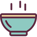 Food And Restaurant, soup, hot drink, Healthy Food, Bowls, food SkyBlue icon