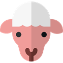 Sheep, Animals, mammal, wildlife, Animal Kingdom Black icon