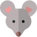 Mouse, pet, Animals, mammal, rodent, wildlife, Animal Kingdom Silver icon