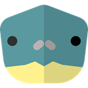 Animal, zoo, turtle, Animals, Wild Life, Animal Kingdom CadetBlue icon