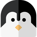 Penguin, zoo, Animals, Wild Life, Animal Kingdom WhiteSmoke icon