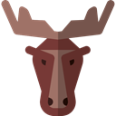 Moose, mammal, wildlife, Animal Kingdom, zoo, Animals Black icon