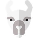 Wild Life, Animal Kingdom, Animal, zoo, Animals, Llama Black icon