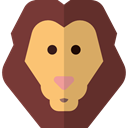 lion, zoo, Animals, Wild Life, Animal Kingdom SaddleBrown icon