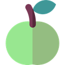 vegetarian, vegan, Healthy Food, Food And Restaurant, Apple, food, Fruit, organic, diet LightGreen icon