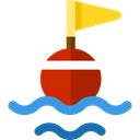 Floating, Beach, Buoy, miscellaneous Black icon