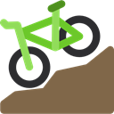 Bicycle, cycling, exercise, transport, vehicle, sports, Bike, sport, transportation DimGray icon