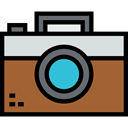 picture, interface, digital, technology, electronics, photograph, photo camera Sienna icon