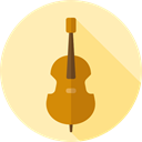 music, Violin, musical instrument, Orchestra, String Instrument, Music And Multimedia Moccasin icon