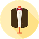 fashion, groom, Elegant, Love And Romance, Suit, Clothes, clothing, wedding Moccasin icon