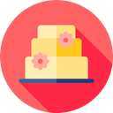 birthday, food, Dessert, sweet, Bakery, Wedding Cake, Food And Restaurant, Love And Romance Tomato icon