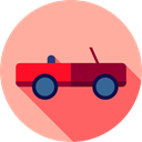 Car, transportation, transport, vehicle, Cabriolet, Automobile LightPink icon