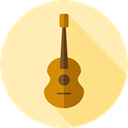 music, guitar, flamenco, Folk, musical instrument, Spanish Guitar, Orchestra, Acoustic Guitar, String Instrument, Music And Multimedia Moccasin icon