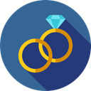 ring, Jewelry, wedding, Marriage, fashion, Engagement, Wedding Rings, Love And Romance SteelBlue icon