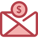 envelope, Business, Money, Cash, Currency, Charity, Business And Finance Icon