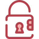 secure, security, padlock, locked, Lock, Tools And Utensils Sienna icon