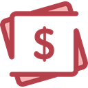 Notes, Business, Money, Cash, Currency, Business And Finance Sienna icon