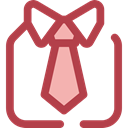 Clothes, clothing, fashion, Elegant, Masculine, Tie, Shirt Sienna icon