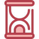 Clock, time, miscellaneous, Hourglass, waiting, Tools And Utensils, Time And Date Sienna icon