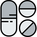 medical, Pill, medicine, healthcare, pills, healthy, heal, Medicines, Remedy, Healthcare And Medical Silver icon
