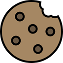 food, cookie, Dessert, Bakery, Biscuit, baker, Food And Restaurant, Furniture And Household Gray icon