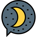 miscellaneous, Sleeping, Cloud, Dream, speech bubble, healthy DimGray icon