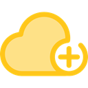 Multimedia, Data, interface, storage, ui, Cloud computing, Multimedia Option Khaki icon
