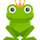 Animal, Character, frog, legend, Animals, Fantasy, prince, Folklore, Fairy Tale OliveDrab icon