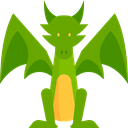 Fairy Tale, Character, Dragon, legend, monster, Animals, Fantasy, Folklore Icon