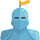 Fairy Tale, Avatar, legend, Fantasy, Folklore, knight, people, user, Character CadetBlue icon