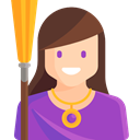 Folklore, Fairy Tale, Avatar, legend, witch, Fantasy, people, user, Character DarkOrchid icon