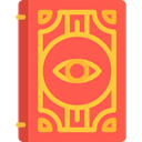 Book, Library, education, Fairy Tale, Spellbook, legend, Fantasy, Witchcraft, Folklore Tomato icon