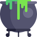 Cook, halloween, pot, Cauldron, food Icon